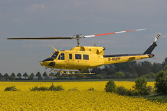 D-HGPP (Kasselspotter) Tags: hubschrauber soest soestairfield rundflug helikopter bell bell212 agrarflug agar agrarflughelilift helilift lastenflug rapsfeld flugtag modellflugtag prowing prowing2018