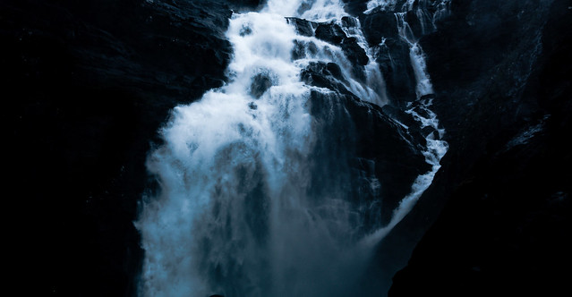 Waterfall in Romsdalen