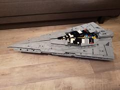 30.4.18 WIP Resugent-class Star Destroyer (Commander Cloverleaf) Tags: star wars destroyer first order resurgent finalizer ucs lego last jedi awakens force kylo ren ship craft space cruiser imperial