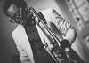 In Performance - Dennis Rollins @The Blue Room (DarrenCowley) Tags: inperformance dennisrollins trombone artist musician gig portrait stage dutchangle monochrome blackandwhite