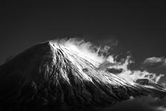 From Shizuoka (Yuga Kurita) Tags: fuji mt mount fujisan san fujiyama yama japan landscape nature black white bw monochrome