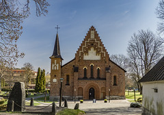 St. Mary's Church, Sigtuna, Sweden (PriscillaBurcher) Tags: stmary'schurch mariakyrkan sigtuna sweden church kyrka romanesquearchitecture gothicarchitecture l1290495