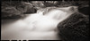 River Rocks -- WPPD 2018 (DRCPhoto) Tags: worldpinholephotographyday2018 wppd zeroimage612b pinhole kodakbw400cn 120film westvirginia
