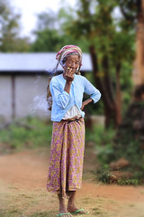 Tribe lady (Kenny Teo (zoompict)) Tags: oldlady tribe people kennyteo zoompict myanmar travel