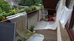 2016-06-18 04 @home, Balkon Renovierung (kaianderkiste) Tags: home bg12 balkon balcony work arbeit renovierung refurbishment renovation