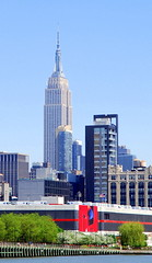 Empire State Building, New York City. (Roly-sisaphus) Tags: nyc thebigapple unitedstatesofamerica