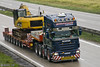 Strychacz (PL) (Brayoo) Tags: convoy transport truck trans trucks tir lkw lorry camoin camioin scania v8