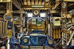 beetle passion (sw2018) Tags: vw car mechanic tools workshop beetle volkswagen art vintage old past times