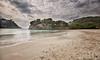(264/18) PLaya y mar (Pablo Arias) Tags: pabloarias photoshop photomatix capturenxd españa cielo nubes agua mar mediterráneo playaarena calagaldana menorca