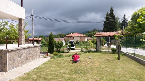 Thunderstorm coming in the Rhodopes
