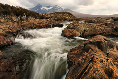 Sligachan (Andy Watson1) Tags: sligachan black cuillin blackcuillins scotland stream mountains flowing water isle of skye isleofskye hebrides snowcapped united kingdom great britain landscape countryside view scenery nature scenic spring april trip canon70d