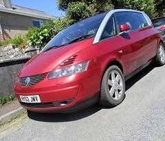 2002 Renault Avantime V6 Privilege (occama) Tags: hy52jvw renault car red french rare v6 cornwall uk avantime 2002