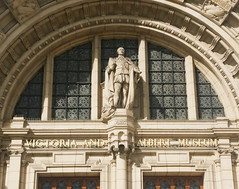 albert above the door (n.a.) Tags: va museum victoria albert cromwell road london statue architecture