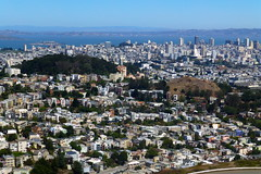 The City by the Bay (Aneonrib) Tags: california san francisco street bay area twin peaks buena vista park alcatraz downtown house housing view overlook dense steep