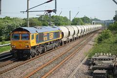 GBRF cement 6M35 (Powerhaul70Pey) Tags: gbrf 66750 bescot clitheroe hanson cement 6m35 euxton freight train locomotive railway