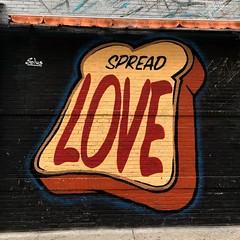 SOLUS (SPREAD LOVE) (SPRAYHUNTER) Tags: new york city graffiti graff street art artists artwork spraypaint spray manhattan artistry artist