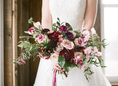 "Dahlia, Anemone, & Sweet Pea Bridal Bouquet • <a style=""font-size:0.8em;"" href=""http://www.flickr.com/photos/81396050@N06/41379486525/"" target=""_blank"">View on Flickr</a>"
