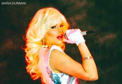 Maria Durbani (Jordi Rombo) Tags: durbani mariadurbani mariadurban maria durban doecencia urban durbanis dubai armani bar durba barbie gothic doll black rose concert singer blonde music spanish spanishbarbie love spain party song
