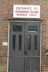 Women Only (John of Witney) Tags: door sign womenonly industrial chathamhistoricdockyard chatham kent