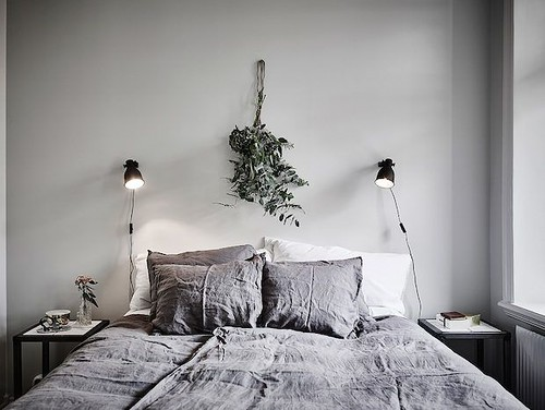 Furniture  - Bedrooms : A beautiful Swedish home in calm, muted tones