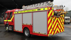 NK67 LMF (Ben Hopson) Tags: cumbria fire rescue service new volvo fl appliance pump ladder wholetime 999 british frs emergency 2017 carlisle east station nk67 lmf nk67lmf