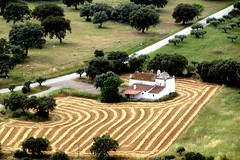 landart (lualba) Tags: landschaft nature natur field landart alentejo monsaraz portugal