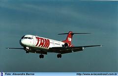 TAM Linhas Aéreas - PT-WHL (Aviacaobrasil) Tags: tam fokker100 aeroportodecongonhas alexandrebarros