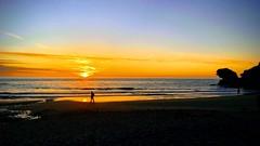 The Edge of Time / Finis Temps / Machlud Amser (FfotoMarc) Tags: wales cymru gwanwyn spring coastalbritain darganfodcymru discoverwales traeth plage beach silhouette sunset machlud walescoastalpath llwybrarfordircymru ceredigion carregbica carreg
