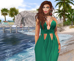 Her Curves Move Like The Waves (CamiMahovlich) Tags: anlarposes bajanorte collabor88 cynful glamaffair lagyo lelutka limit8 monso pinkfuel veechi