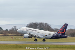 Brussels Airlines OO-SSF A319-100 (IMG_7490) (Cameron Burns) Tags: brusselsairlines brussles belgium sn oossf airbus airbus319 airbus319100 a319100 a319 bru brussels manchester airport manchesterairport man egcc ringway viewing park airfield aviation aerospace airliner aeroplane aircraft airplane plane canoneos550d canoneos eos550d canon550d canon eos 550d uk united kingdom unitedkingdom gb greatbritain great britain europe action