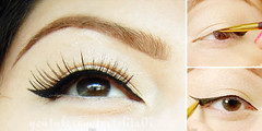 Tutorial – Beautiful with Winged Eyeliner (TrendVogue) Tags: trendvogue net fashion trend vogue style beauty celebrity food health life sex love wedding models mode girl parties ready to wear week designers cat walk
