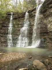 RED03045 (David J. Thomas) Tags: caves caving hiking speleology class students twinfalls camporr jasper waterfall creek stream karst arkansas lyoncollege