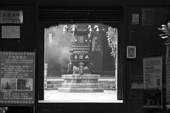 Zhujiajiao Water Town (virtualwayfarer) Tags: shanghai shanghaishi china cn ancientvillage historicvillage oldcity watertown watervillage watercity canals exploring chinese chinesetourism tourism tour zhujiajiaowatertown zhujiajiao winter cold yangtzeriver temple templeentrance alexberger travelphotography sonyalpha a7rii travelphotographer