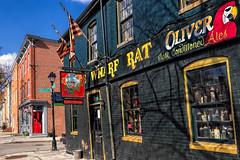 The Wharf Rat (Tim Pohlhaus) Tags: fells point urban baltimore maryland wharf rat cask ales ann street building