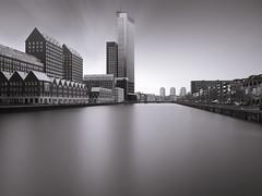 Rotterdam (Joel Tjintjelaar) Tags: tjintjelaar rotterdam architecture longexposurephotography phaseoneachromatic bwartisanpropanel bw blackandwhitearchitecture schneiderkreuznach45mm formatthitechfirecrestfilters