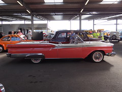 1959 Ford Fairlane Galaxie 500 Convertible (Skitmeister) Tags: car auto pkw voiture auction bca barneveld nederland netherlands skitmeister