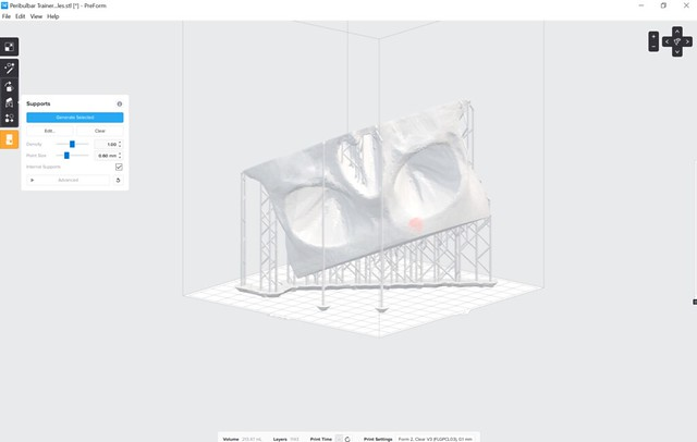 FormLabs PreForm software