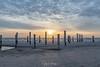Sunset North See Beach - The Netherlands (Henk Verheyen) Tags: nl nederland netherlands noordholland noordzee zonsondergang buiten lente outdoor spring strand sunset groet palendorp clouds wolken zon sun lucht