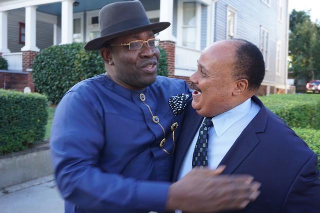 HSDickson visit to Martin Luther KIng Jr center Atlanta