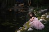 make believe time... (Alvin Harp) Tags: fantasy prettyinpink younggirl lacaillerestaurant saltlakecity utah pond granddaughter portrait fairytale sonyilce9 fe70200mmf28 april 2018 childportrait alvinharp