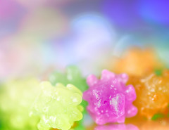 Kon-pei-to (Tomo M) Tags: jagged macromondays macro candy food bokeh light sugarplum 金平糖 sugar sweet pastel