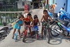 kids enjoying their summer vacation (the foreign photographer - ฝรั่งถ่) Tags: dscapr232016sony kids children four bicycles scooter tricycle khlong lat phrao portraits bangkhen bangkok thailand sony rx100