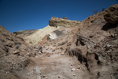 GY8A5217.jpg (Brad Prudhon) Tags: 2018 april blm barstow calicopeaks california dryriverbed fossilbeds geology hiking mojavedesert naturalnationallandmark owlcanyoncampground rainbowbasin rockformations trailrocks wash beautiful colors formations walk