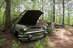 IMG_5876 (mookie427) Tags: urbex urban explore exploration explorers exploring ue derelict abandoned decay decayed ruin ruined car graveyard scrapyard old junkyard rusty rusted classic cars city georgia usa