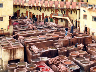 dyeing factory