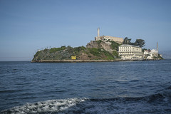 Approaching Alcatraz (San Francisco Gal) Tags: alcatraz island sanfranciscobay water building tower prison fort