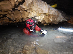 Sump (Cjasar) Tags: caving diving speleology speleologia speleosub csif circolospeleologicoidrologicofriulano podlaniše podlanisce cave grotta foran sifon sump sifone exploration esplorazione