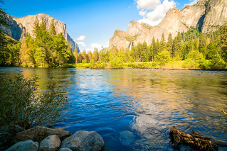 Valley View Merced River Full & Raging! Yosemite National Park Spring Fine Art Landscape Photos! High Res Elliot McGucken Landscape & Nature Photography! Sony A7rii!  Carl Zeiss Glass! Sony 16-35mm Vario-Tessar T FE F4 ZA Lens! El Capitan & Bridalveil Fal