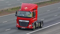 PJ67 MFF (panmanstan) Tags: daf cf wagon truck lorry commercial freight transport vehicle a1m fairburn yorkshire