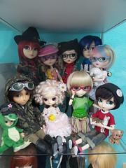 New dolls at home (Fidjie) Tags: dolls toshiie kaito groove vocaloid taeyang starks mika greggia jessie tantus oscar sage pj dal wancho aggonya tobias benji jimmyx apollo rida rene charlie stica